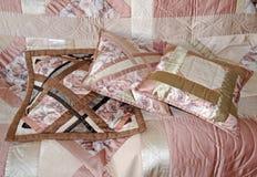 Trois oreillers piqués Image libre de droits