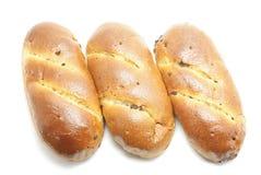 Trois pains Photo stock