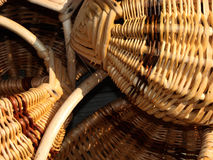 Trois paniers ensemble Image stock