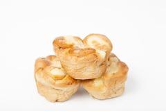 Trois parties de pain Image stock
