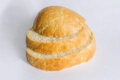 Trois parts de pain Photo stock