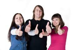 Trois personnes photo stock