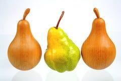 Trois poires Photos libres de droits