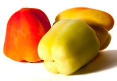Trois poivrons Photos libres de droits