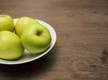 Trois pommes Photos libres de droits