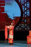 Trois pouces Plum Blossom Prize Art Troupe Lotus-chinoise d'or Images stock