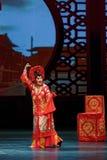 Trois pouces Plum Blossom Prize Art Troupe Lotus-chinoise d'or Images libres de droits