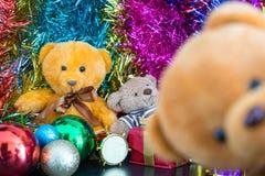Trois poupées d'ours Images stock