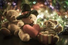 Trois poupées d'ours Photographie stock libre de droits