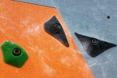Trois prises noires de roche photos stock