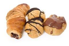 Trois pâtisseries Image libre de droits