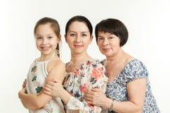 Trois rétablissements des femmes Image libre de droits