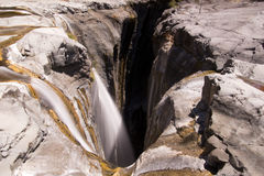 The Trois Roches Waterfall Royalty Free Stock Image