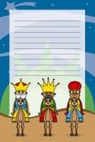 Trois rois Photo stock