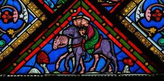 Trois rois - verre souillé Photos libres de droits