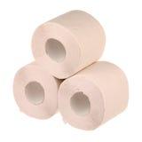 Trois rouleaux de papier photo libre de droits