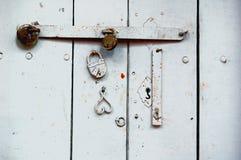 Trois serrures Photographie stock libre de droits