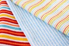 Trois serviettes Image libre de droits