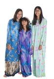 Trois soeurs adolescentes malaises asiatiques IV Images libres de droits