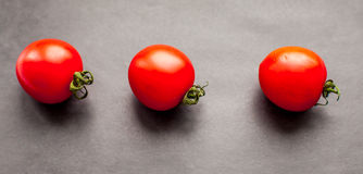 Trois tomates Photo stock