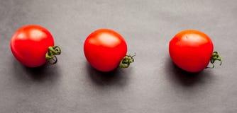 Trois tomates photo stock