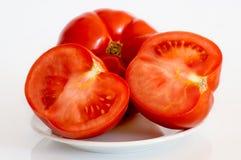 Trois tomates Photos libres de droits