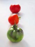 Trois tomates images libres de droits