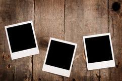 Trois trames de photo photos libres de droits