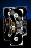 Trois unités de disque dur Photos stock