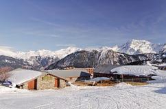 Trois vallees, Haute savoie, France Stock Photos