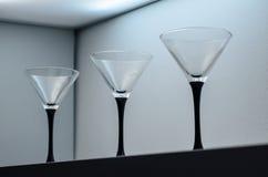 Trois verres Image libre de droits