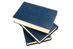 Trois vieux livres. Photographie stock libre de droits