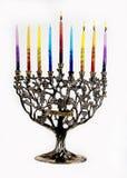 Troisième jour de Chanukah. XXL Photographie stock