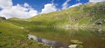Troisième lac de Lusia Photos stock