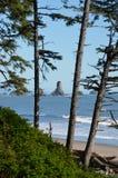 Troisième plage Image libre de droits