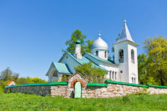 Troitsk church in Polenovo Royalty Free Stock Photo