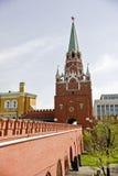 troitskaya башни Стоковая Фотография