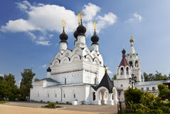 Troitskaya church at Holy Trinity Monastery at Murom Stock Images
