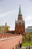 Troitskaya Tower Stock Photography