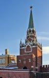 Troitskaya Tower,Moscow Stock Photo