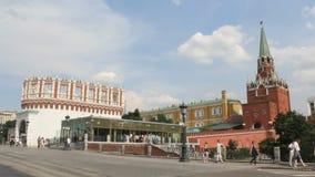 Troitskaya Tower of Moscow Kremlin Royalty Free Stock Image