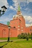 Troitskaya Tower Of The Moscow Kremlin. Stock Image