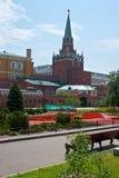 Troitskaya Tower of Moscow Kremlin Stock Image