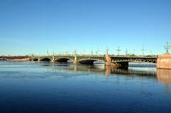 Troitskiy桥梁 免版税库存照片