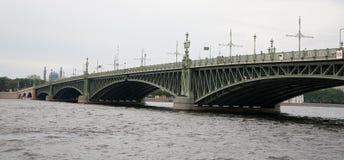 troitskiy的桥梁 免版税库存图片