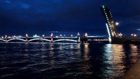 Troitskiy Brücke Stockbild