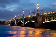 Troitsky Bridge Stock Image