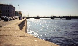 Troitsky Bridge Stock Photo