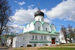Troitsky cathedral in Aleksandrovskaya Sloboda, Vladimir region, Golden ring of Russia Stock Photo