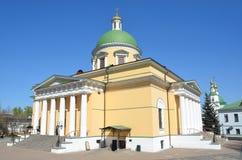 Troitsky domkyrka i denDanilov kloster i Moskva Fotografering för Bildbyråer